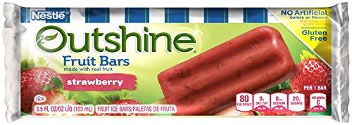 OUTSHINE Strawberry Fruit Bar 3.5 fl. oz. Wrapper: Amazon ...