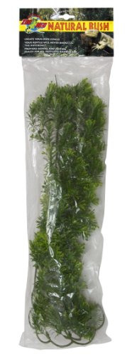 Zoo Med Naturalistic Bush Plant Borneo Star, Large by Zoo Med