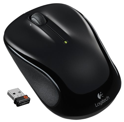 (Logitech M325 Wireless Mouse for Web Scrolling - Black)