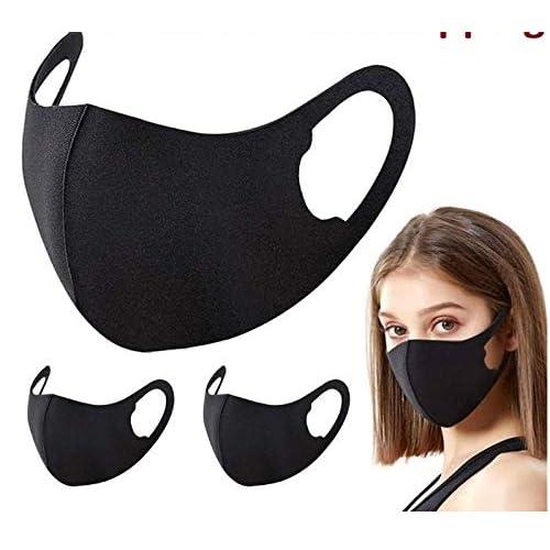 10PCS Unisex Washable Reusable - 3D Design_Mask Anti-Dust...