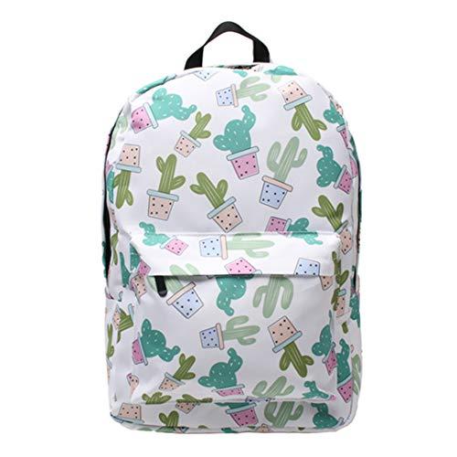 Boys Girls Universal Various Patterns Print School Daily Notebook Backpack Travel Bag
