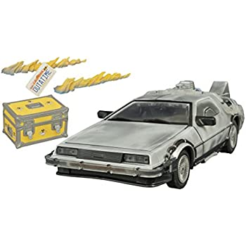 Diamond Select Toys Back to the Future: Iced Time Machine Collector's Set Vehicle