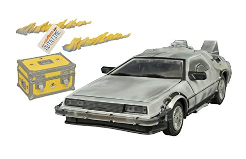 Diamond Select Toys - Back to the Future: Iced Time Machine Electronic Vehicle Collector Set - Multi JUL152196