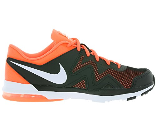 Nike Wmns Air Sculpt Tr 2, Baskets Basses Femme Noir - Negro (Black / White-Bright Mango)