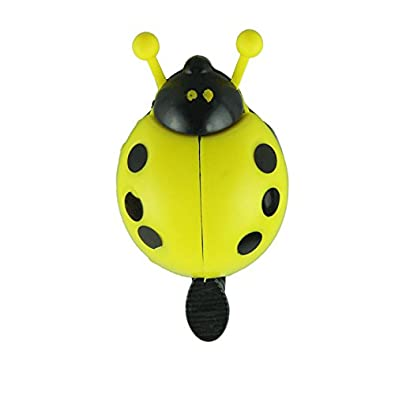 JD's Green Bug Bi-Cycle One Flip Cling Bell (Click on JD India Gems and Rings to See All Our Products)