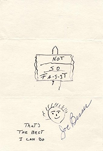 Three Stooges (Joe Besser) – Original Art Signed