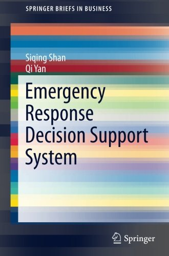 Emergency Response Decision Support System (SpringerBriefs in Business)-cover