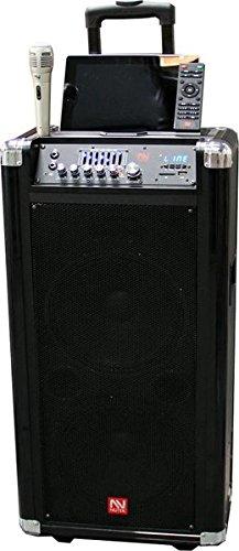 Nutek TS20210B Portable Sound System, Black