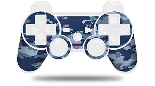 WraptorCamo Digital Camo Navy - Decal Style Skin fits Sony PS3 Controller (CONTROLLER NOT INCLUDED)