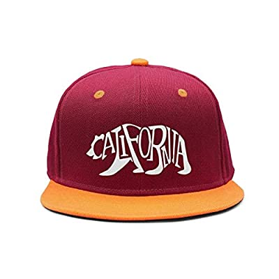 YCTBHATS California Grizzly Mesh Unisex Adult-one Size Snapback Trucker Hats
