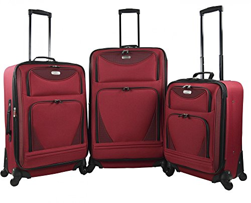 Tone Expandable Travel Set - 3 Piece Expandable Luggage Set Includes 28