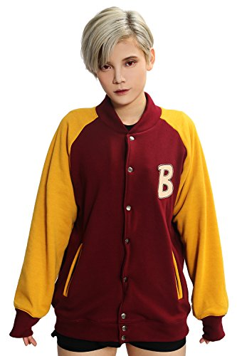 Unisex Hotline Jacket Hooodie Deluxe Dark Red Cotton CL Miam Cosplay S - Jacket Hotline Miami Costume