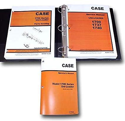 Amazon.com: Case 1700 1737 1740 Uni Loader Skid Steer ...