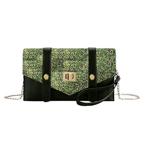 Gogoodgo Women Fashion Handbags Tote Purses Shoulder Bags Top Handle Satchel Purse Set 2pcs Army Green