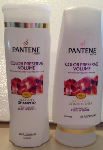 Pantene Pro-V Color Preserve Volume Shampoo & Conditioner Set - 12.6 oz. each by - Mall Prov