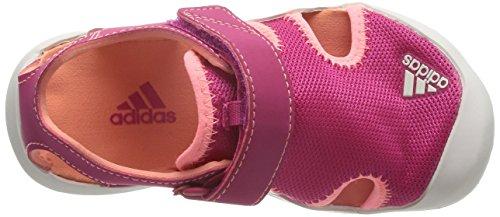 adidas Captain Toey K, Zapatillas de Deporte Unisex Infantil, Rosa / Rojo / Blanco (Rosfue / Brisol / Blatiz), 34 EU