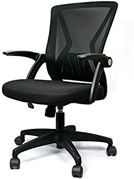 Sinovo Mid Back Mesh Office Swivel Chair With Lumbar Support