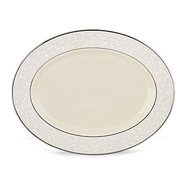 Lenox Pearl Innocence Oval Platter, 16-Inch