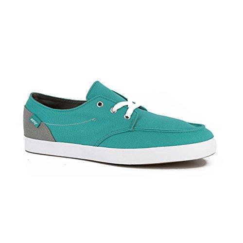 grey turquoise Vintage Grigio Shoes 0 Hand turquoise grey 10 Reef Medium Deck 2 aFBBAfZ