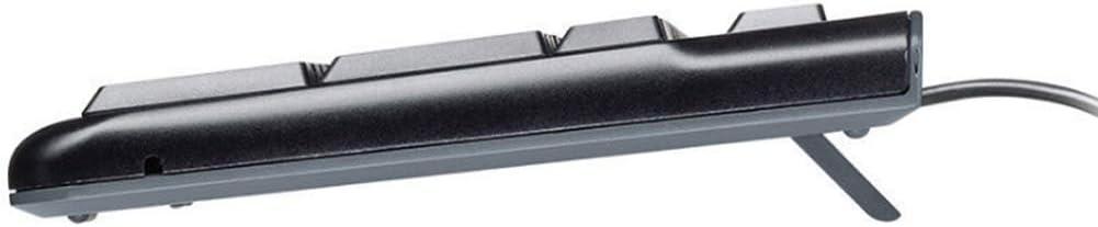 ZFLIN Wired Round Hole Interface Narrow Side Waterproof Ultra-Thin Keyboard