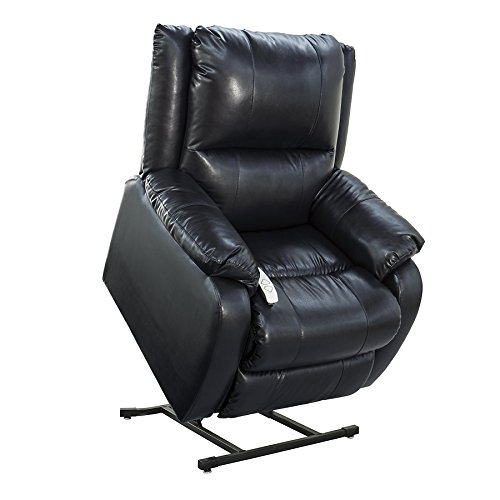 NM-2650 (Sta-Kleen Vinyl-Royal Blue) Mega Motion Power Lift Recliner Chair.Weight Capacity: 375 lb. Suggested User Height: 5'6