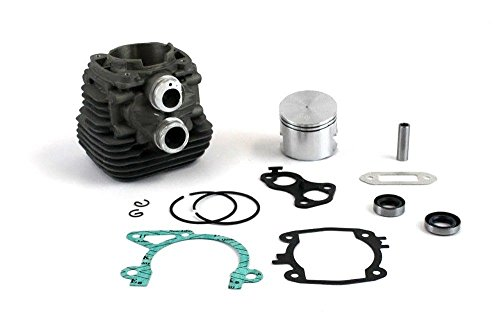 Everest Parts Supplies New Cylinder Rebuild Kit Fits Stihl TS410 TS420 Piston Gaskets Piston Rings