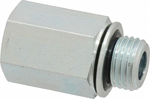 Parker 1/8X1/8F4OHGS BSPP Adapter 1/8 BSPP Male X 1/8 NPTF Female