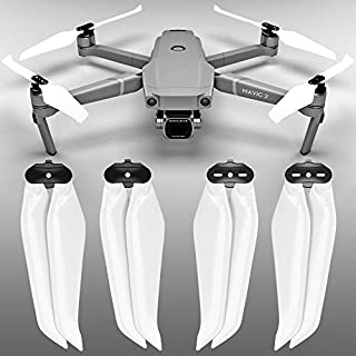 MAS Stealth Propellers for DJI Mavic 2 in White - x4 in Set