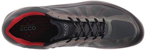 Ecco Hombres Biom Fjuel Racer Sneaker Black / Dark Shadow