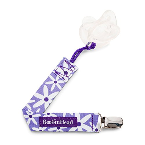 BooginHead PaciGrip Pacificer Holder Purple