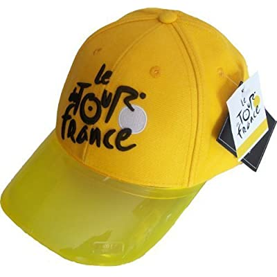 Casquette - Le Tour de France de Cyclisme - Velo - Collection officielle - Maillot Jaune - Taille réglable Adulte et ado - hat cap