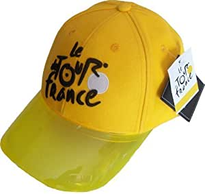 Tour de France Cyclisme - Gorra del Tour de Francia (talla regulable), diseño de maillot amarillo