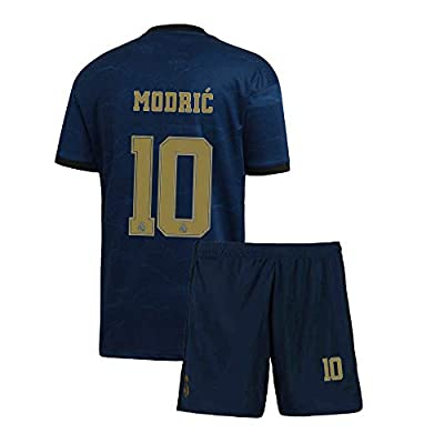 Youth Modric Jersey 2019-2020 Real Madrid 10 Away Kids Soccer Luka
