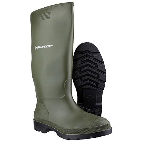 9 Pricemastor US Wellies Dunlop Adults Unisex Green vWcq1I