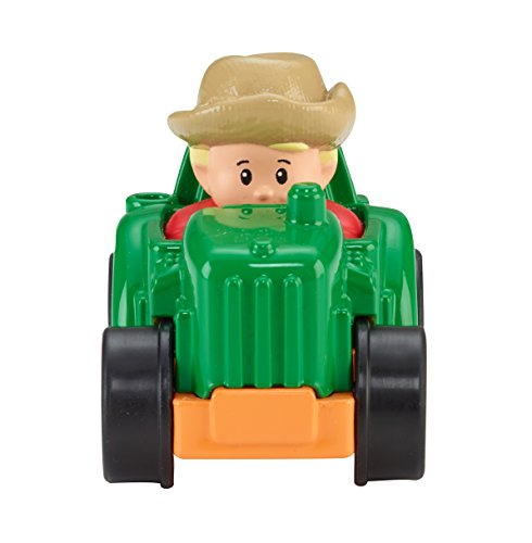 Fisher-Price Little People Wheelies Tractor (The Tractor People)