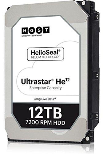 HGST Ultrastar He12 | HUH721212ALE601 | 12TB 7.2K RPM SATA-6Gb/s 3.5'' 256MB cache HDD by HGST, a Western Digital Company