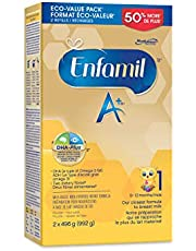 Enfamil A+, Baby Formula, Value Pack, Powder Refill, DHA (a type of Omega-3 fat) to help support brain development, Age 0-12 months, 992g