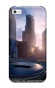 New JPIoQHx5875MijDs Halo 5: Guardians Skin Case Cover Shatterproof Case For Iphone 5c