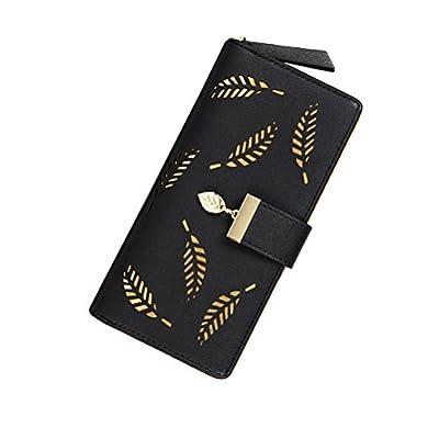 G-zebra Women's Wallets Long Leather Card Holder Purse Clutch Wallets for Girls