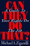 Can They Do That?, Michael A. Zigarelli, 002935823X