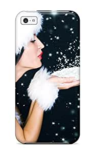 Mary P. Sanders's Shop Iphone 5c Cover Case - Eco-friendly Packaging(beautiful Christmas Sanata Babe) 4230579K31762498