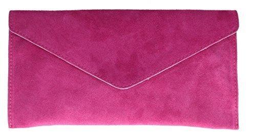 Girly Handbags Rebecca - Bolso Mujer - fucsia