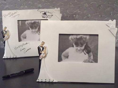 Best Wishes Signature Photo Frame by Cassiani [並行輸入品]   B01AL086WW