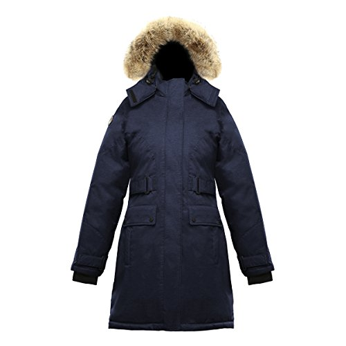 Triple F.A.T. Goose Isella Womens Down Jacket (XL, Navy) ()