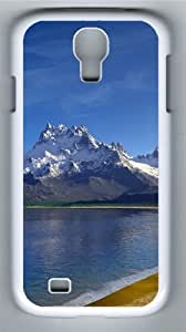 Lake Landscapes PC Case Cover for Samsung Galaxy S4 and Samsung Galaxy I9500 White