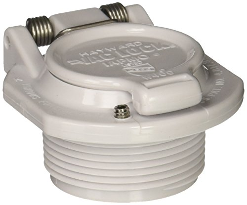 - Hayward W400BWHP White Free Rotation Vacuum Lock Safety Wall Fitting Replacement for Hayward Navigator Pool Cleaners