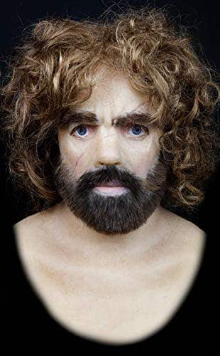 """Silicone Mask""""Tyrion Lannister"""" Hand Made by The Masker, Pro High Quality, Terrifically Realistic, Realistic Silicone, Halloween Masks"""