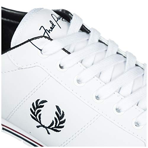 White Fred Sneakers B7222 Uomo Perry ZRqUB6