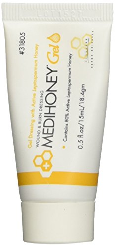 Improved Medihoney Gel Wound and & Burn Dressing from Derma Sciences, 0.5 oz, (Wound Care Healing)
