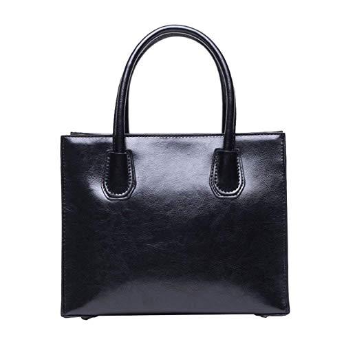 Moda La Negro Temperamento Simple Hombro Mujer Bolso Elegante Citas De Bolso Un Crossbody x6Fq5fw0A